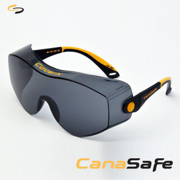 CoverX, Black/Yellow Frame, Gray A/F Lens