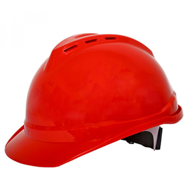 Ameriza Safety Helmet Ventilated with Textile Ratchet Suspension